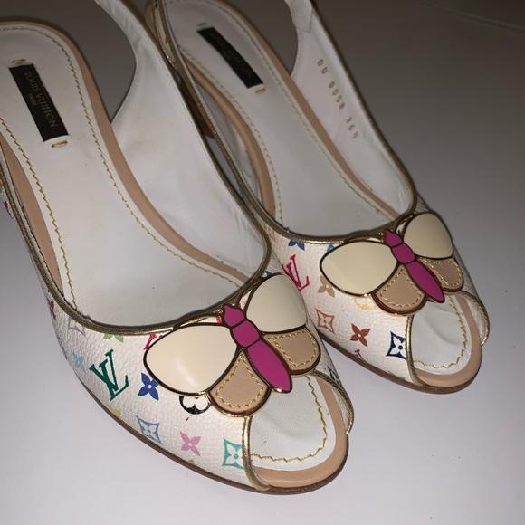 Louis Vuitton Shoes   Rare Butterfly